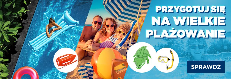 Namiot plażowy, piłka, okulary, czyli co zabrać na plażę SportBazar