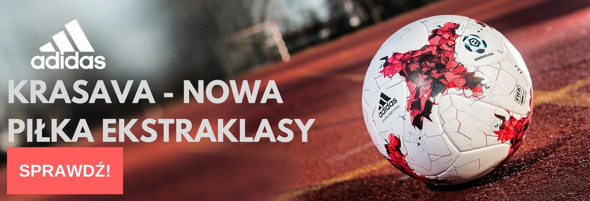 Nowa piłka Ekstraklasy - Adidas Krasava.