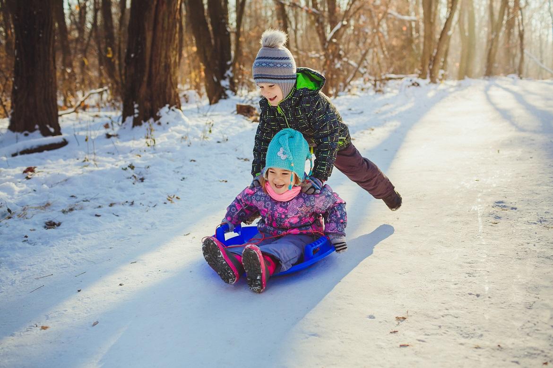 Co robić z dzieckiem zimą
