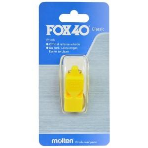 GWIZDEK FOX 40 CLASSIC MOLTEN żółty bez sznurka