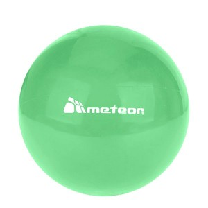 PIŁKA GUMOWA METEOR FUNNY 20cm jasny zielony