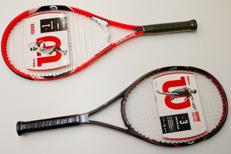 Rakieta do tenisa ziemnego – Wilson Federer czy Drone Tour?