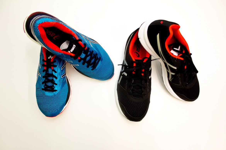 Test butów biegowych ASICS PATRIOT 8 i ASICS GEL CUMULUS 18.