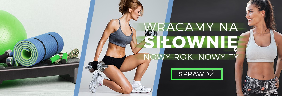 Buty treningowe i odzież sportowa na siłownię Sportbazar