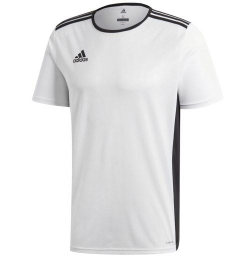 biała koszulka na wf adidas entrada cd8438. Wyprawka szkolna. Co kupić