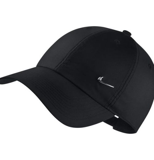 czarna czapka z daszkiem nike czapka 943092 010