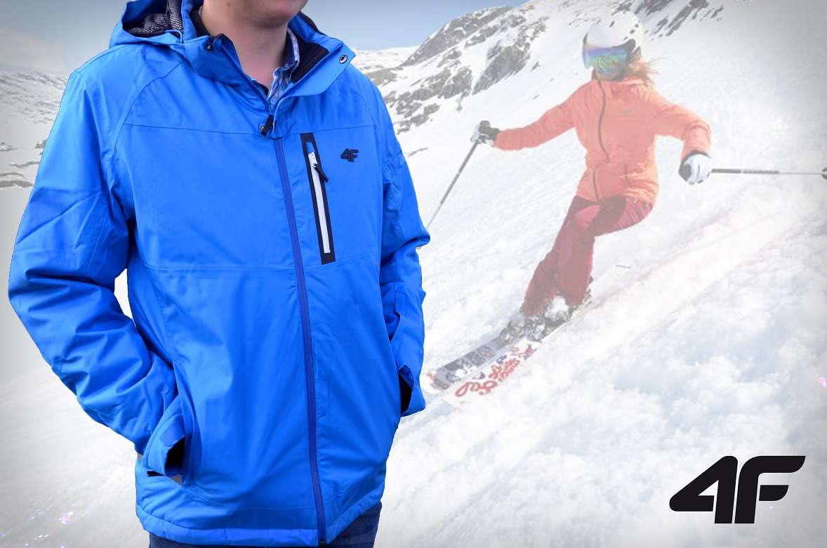 Kurtka narciarska 4F H4Z18 KUMN006 – czy kurtka funkcyjna nadaje się również do noszenia na co dzień