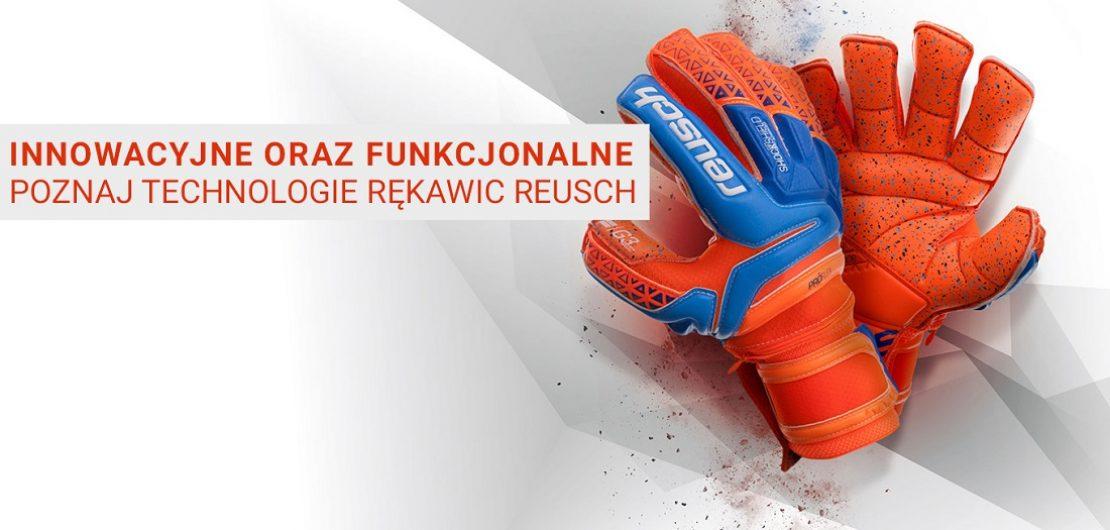 Rękawice bramkarskie Reusch – sklep sportbazar.pl