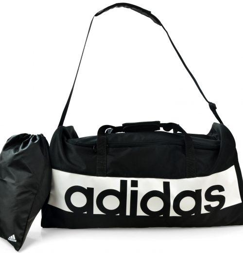 Torba na siłownię adidas Linear S99959 czarna – cała torba