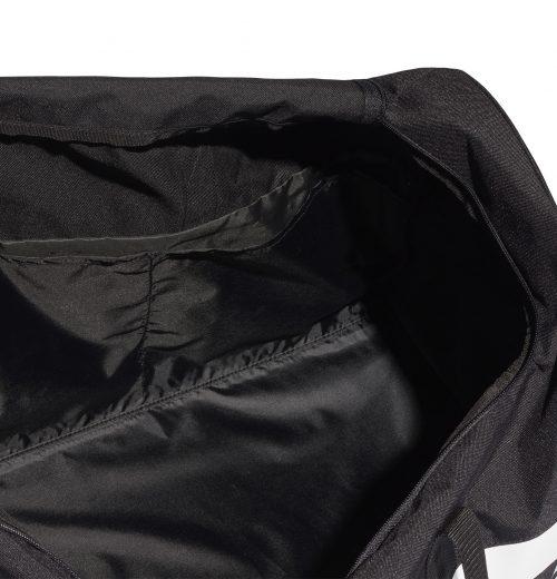 Torba na siłownię adidas Linear S99959 czarna -kieszeń wewnętrzna