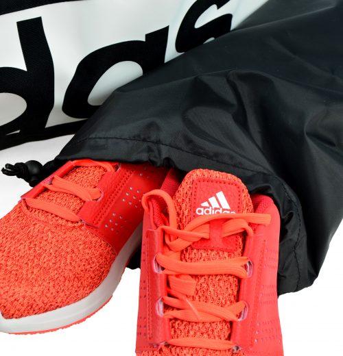 Torba na siłownię adidas Linear S99959 czarna – worek na buty