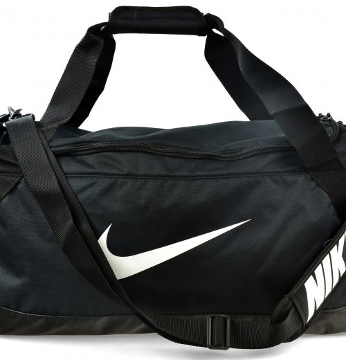 Torba treningowa Nike Brasilia czarna – cała torba