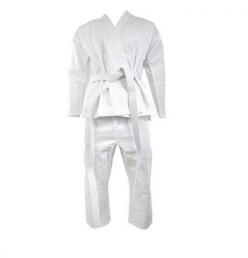 kimono do karate Sztuki walki dla dzieci – jaki sport będzie dobry na początek. karate dla dzieci, judo dla dzieci, aikido dla dzieci, zajęcia dodatkowe dla dzieci