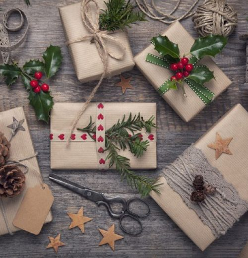 Christmas vintage presents