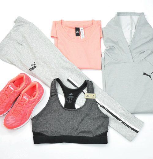 odzież sportowa damska, komplet sportowy Puma