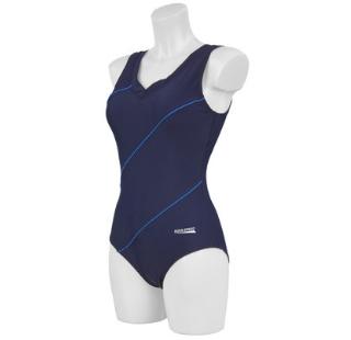 Kostium kąpielowy damski Aqua-Speed Sophie granantowo-niebieski 49 3234