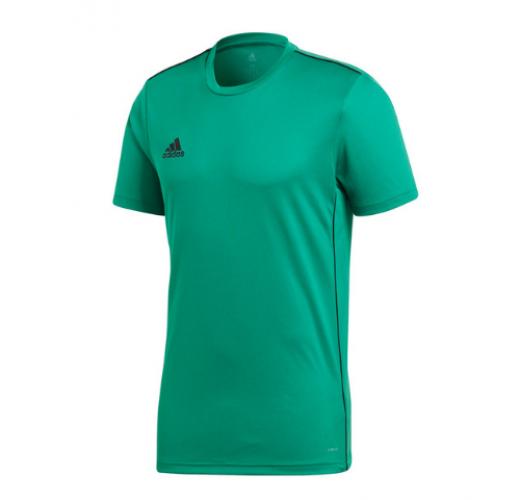 Koszulka adidas Core 18 Training zielona CV3454