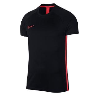 Koszulka męska Nike M Dry Academy SS czarno-czerwona AJ9996 014