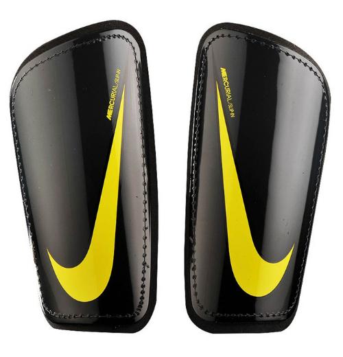Ochraniacze piłkarskie Nike Mercurial Hard Shell czarno-zółte SP2128 060