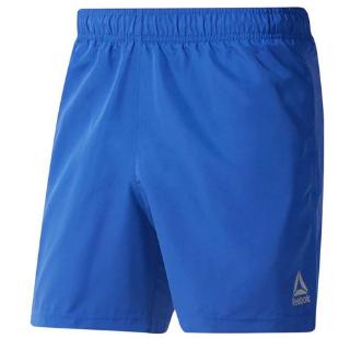 Spodenki kąpielowe męskie Reebok Beachwear Basic Boxer niebieskie DU4008