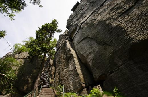 Szlak na Szczeliniec Wielki (źródło flickr.com)