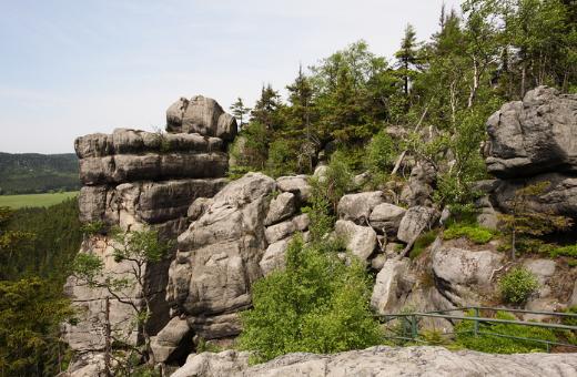 Szczeliniec Wielki, Góry Stołowe (źródło flickr.com)
