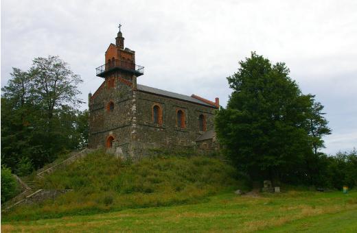 Kościół na Górze Ślęży (źródło flickr.com)