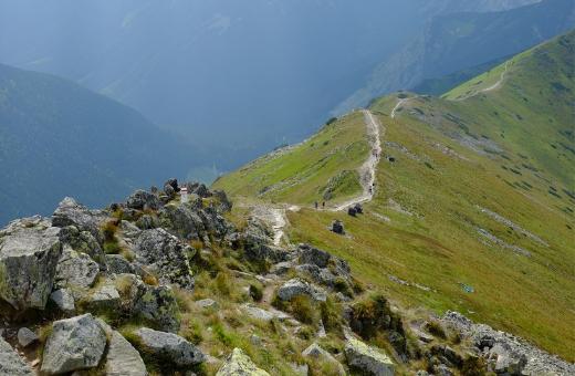 Szlak na Kasprowy Wierch (źródło flickr.com)