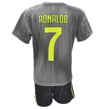 Komplet Sportowy Replika Ronaldo Juventus 2018/19 szary