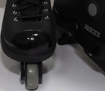 Łyżworolki agresywne Roces M12 UFS czarne 101183 01 – przód
