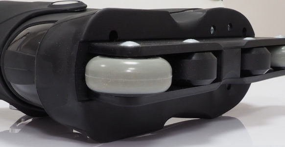 Łyżworolki agresywne Roces M12 UFS czarne 101183 01 – szyna, kółka