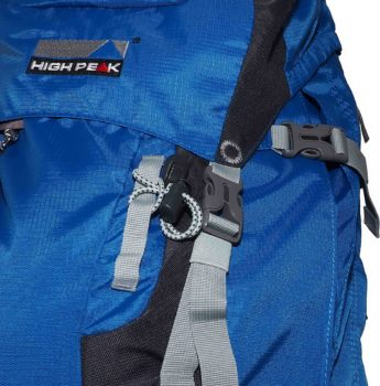 Plecak turystyczny High Peak – paski kompresyjne, klamry