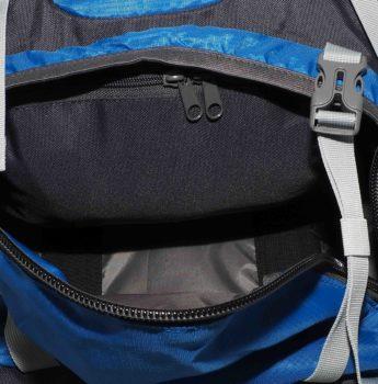 Plecak turystyczny High Peak – dostęp do komory górnej, wewnętrzna kieszeń