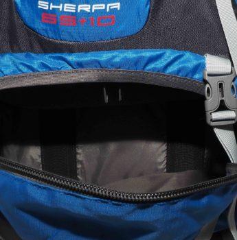 Plecak turystyczny High Peak – dostęp do komory dolnej