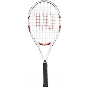 Tenis ziemny – 7 powodów, dla których warto grać. Rakieta do tenisa wilson federer 100-l3