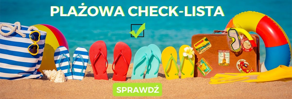 Produkty na plażę – sklep sportowy sportbazar. Do tekstu Najpiękniejsze plaże w Polsce. Top 10