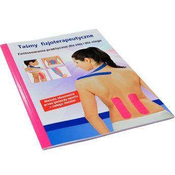 """Książka """"Kinesiotaping"""" zastosowanie taśm fizjoterapeutycznych"""